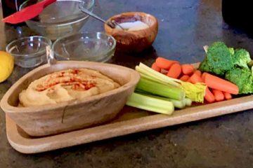 Garlic Hummus Photo