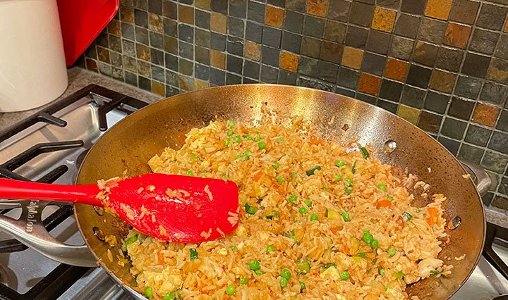 Chicken Fried Rice for Garlic Lovers